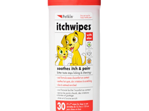 Petkin Itchwipes Soothes Itch &Pain 30 Wipes