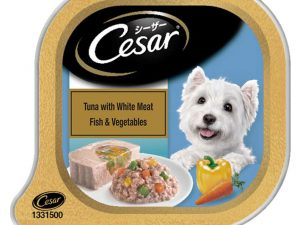 Cesar Tuna with White Meat Fish and Vegetables 100g (pack of 2)