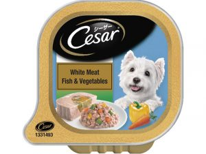 Cesar White Meat Fish and Vegetables 100g (pack of 2)