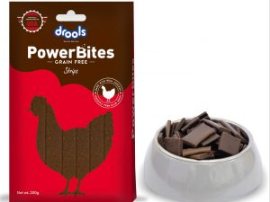 Drools Treat Power Bites Strips 200g