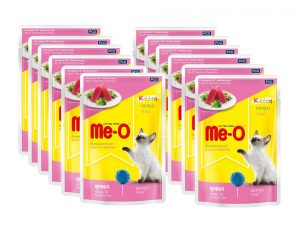 Me-O Kitten Tuna Pouch 80Gm (Pack of 12)