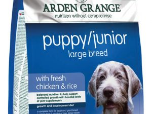AG Puppy Junior Large Breed with Fresh Chicken & Rice 12kg