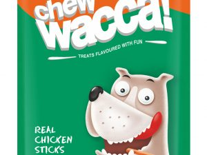 Drools Chew Wacca Real Chicken Sticks Carrrot Flavour 75gm (Pack Of 2)