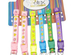 15mm Ribbon Print Collar (price Rs.115 each)