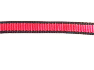 Collar 3/4'PP Red and Black (Pack of 2)