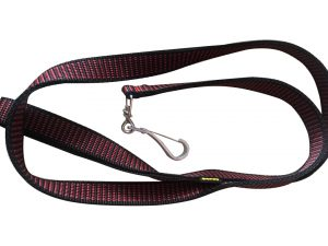 LEASH 1'Inch Red and Black