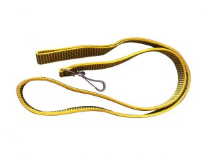 "LEASH 1""Inch Yellow and Black"