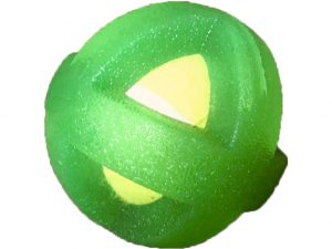 TENNIS BALL IN CAGE